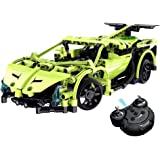 Model Kits Build Your Own Remote Control Car,CrossRace Electric Kit Toys,1:14 2.4GHz Construction Kits Sets,Gift Toys for 12 Years Old Boys,Green