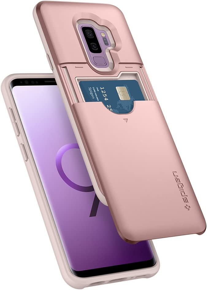 Spigen Slim Armor CS Designed for Samsung Galaxy S9 Plus Case (2018) - Rose Gold