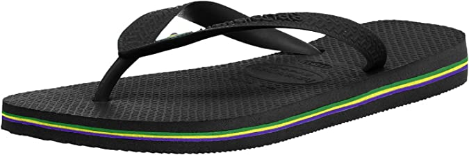 Havaianas Brazil white Logo flip-flops UK size 6-7 £15.90