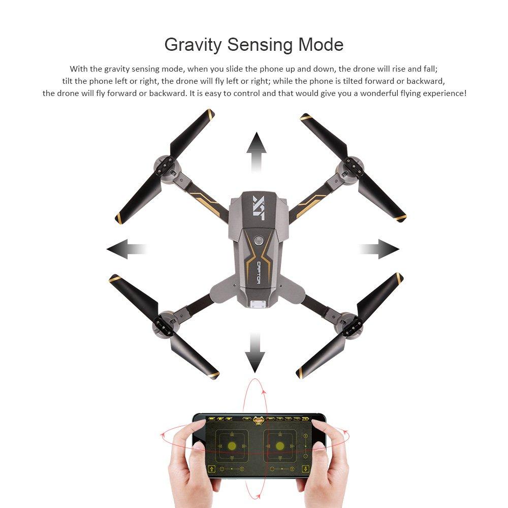Goolsky Attop X-Pack 8 720P Cámara Gran Angular WiFi FPV Drone ...