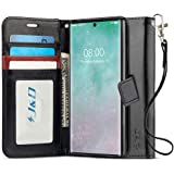 J&D Case Compatible for Samsung Galaxy Note 10 Pro/Note 10 +/Note 10+ 5G/Note 10 Plus/10 Plus 5G Case, [RFID Blocking Wallet][Slim Fit] Heavy Duty Shockproof Flip Cover Wallet Case - [Not for Note 10]