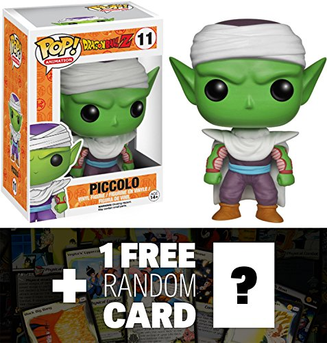 Dragon Z Ball Trading Dragon Cards (Piccolo: Funko POP! x DragonBall Z Vinyl Figure + 1 FREE Official DragonBall Trading Card Bundle [39936])