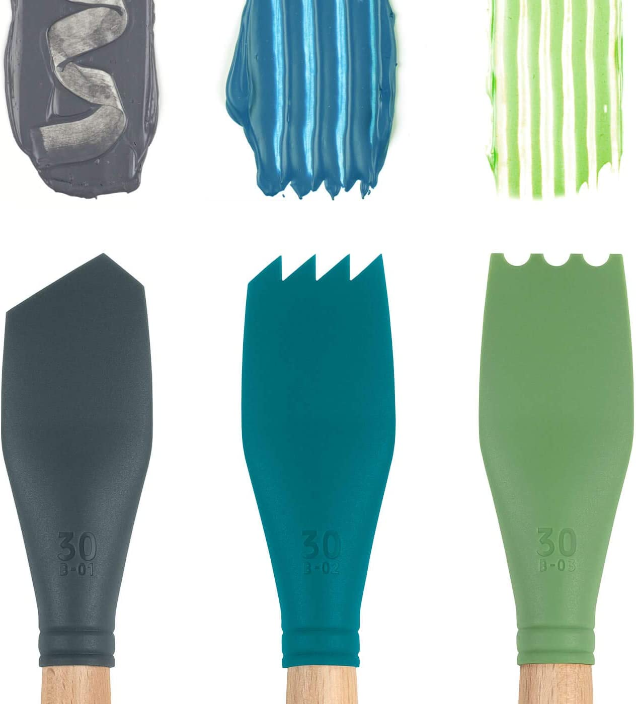 Catalyst Silicone Blade Tool-Grey B15-01