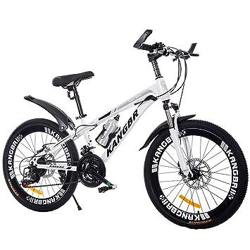 Wangkai Bicicleta de Montaña Acero de Alto Carbono Buena Absorción ...