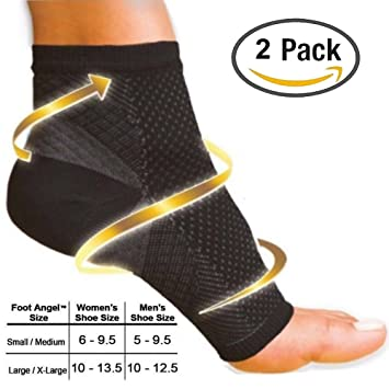 Calcetines de compresión de Aiken, calcetines tobilleros de compresión, para