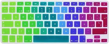 Wayes - española Cubierta del Teclado/Keyboard Cover para MacBook Pro 13