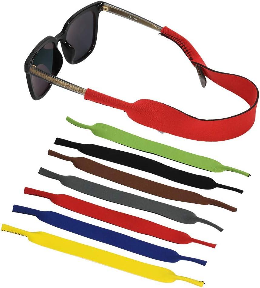 Women Men GothYor Youngle 7 Pcs Sunglasses Strap,Sunglass Holder Strap Multi-Color Non-Slip Glasses Straps Eyewear Retainer for Sports,Outdoor Activities,Kid