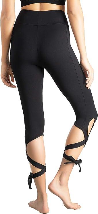 Calf-Length Pants Sport Leggings Women Fitness Yoga High Waist Mesh Pants IY ZH