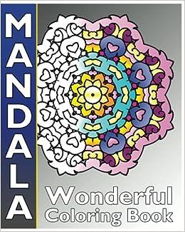 Amazon.com: Mandala Wonderful Coloring: 50 Coloring ...