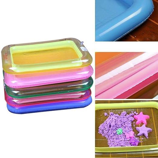 Haxisi - Bandeja hinchable para niños (multifunción), color ...