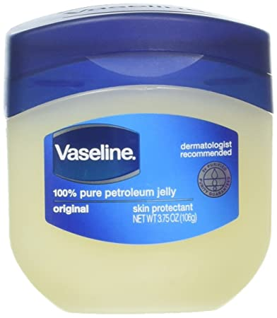 Vaseline 100% Pure Petroleum Jelly Skin Protectant 3 75 oz (Pack of 2)