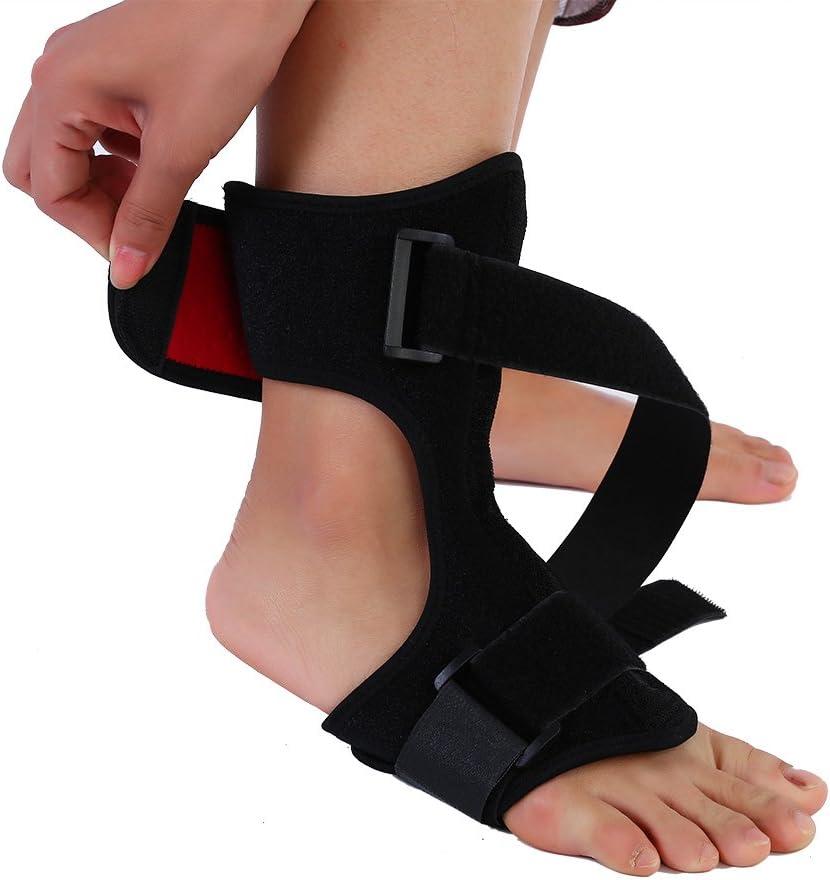 Cavigliera ortopedica,fascia per caviglia,fascite vegetale regolabile ginocchiera bretelle cinturino da polso alla caviglia supporto per poggiapiedi,soffice e leggera alleviare il dolore