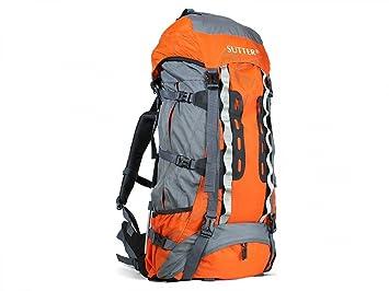 Sutter Mochila de Senderismo Premium de 80 litros Naranja *Impermeable* para Excursiones y Trekking de Gran Capacidad Camping Acampar Deporte: Amazon.es: ...