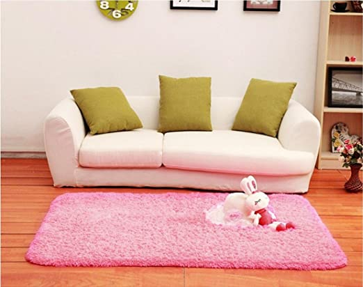 Amazon.com: ACTCUT Super Soft Modern Shag Area Silky Smooth Kids ...