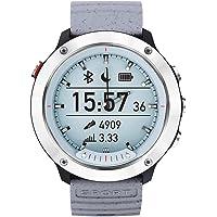 Opta SB-066 Aluminium Heart Rate Monitor Smart Watch (Silver)