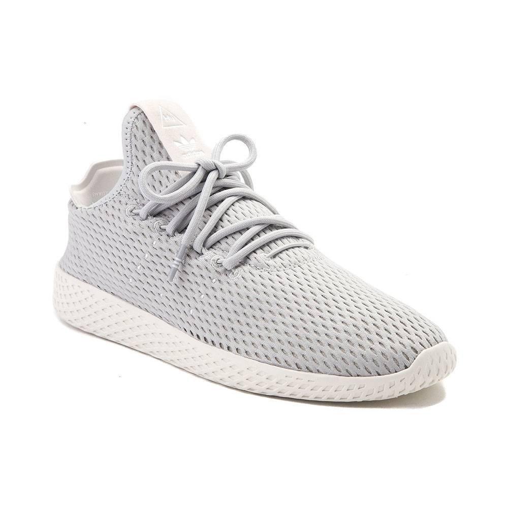 (アディダス) adidas 靴シューズ レディーススニーカー Womens adidas Pharrell Williams Tennis HU Athletic Shoe Light Gray/Chalk ライト グレー/ US 7.5 (24.5cm) B077Z5P2MN