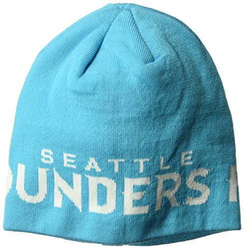 MLS Seattle Sounders FC Adult 1st Kick Jersey Hook Beanie, One Size, Green