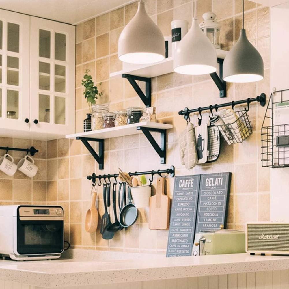 LIANGLIANG Estantes De Pared Flotantes Suspensión De Cocina Mamparo Estable Madera Maciza Simple, 3 Colores, 4 Tamaños (Color : Blanco, Tamaño : 120x20x2cm): Amazon.es: Hogar