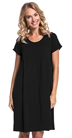 630f1673d682f Womens Labor Delivery Hospital Gown Breastfeeding Maternity. 434p (Black, US