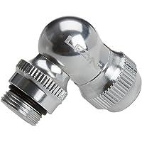 Lezyne Adapter Slip Fit Chuck, zilver-glanzend, standaard