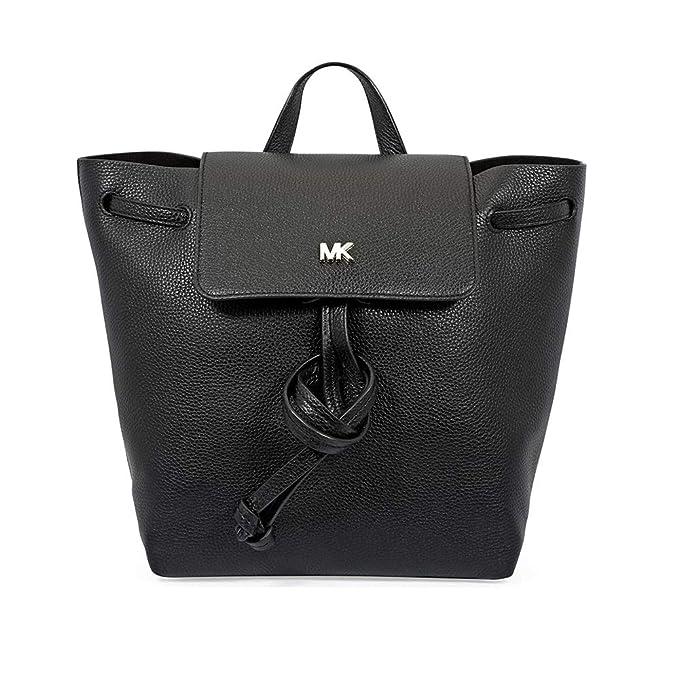 Michael Kors - Junie, Bolsos mochila Mujer, Negro (Black), 18x10x28 cm