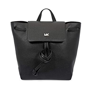 237fea5638cd MICHAEL Michael Kors Junie Medium Pebbled Leather Backpack - Black