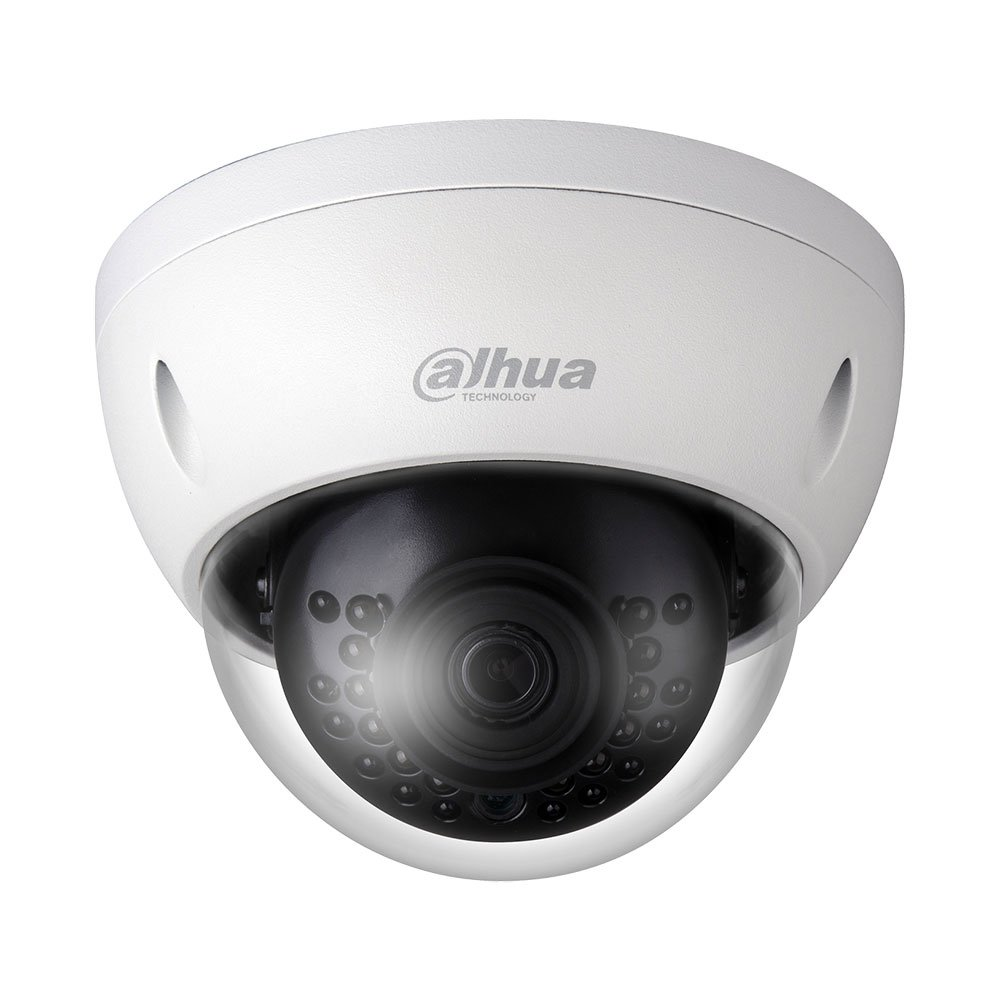 Dahua Lite Fixed Mini Dome 1/3i 3Mp CMOS 2.8mm Lens ICR DWDR H.264(+) IR 30M 30fps 1080P IP67/IK10 DC12V/PoE (IPCHDBW1320E28) IPC-HDBW1320EP-0280B