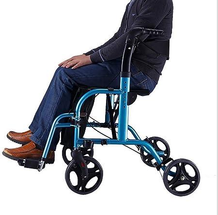 Andadores para discapacidad con Asiento Plegable con Ruedas ...