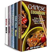 Authentic Comfort Box Set (5 in 1): Over 150 Chinese, One-Pan, Baked Treats, Soups and Flavors to Add Diversity to Your Cooking Routine (Traditional Recipes)