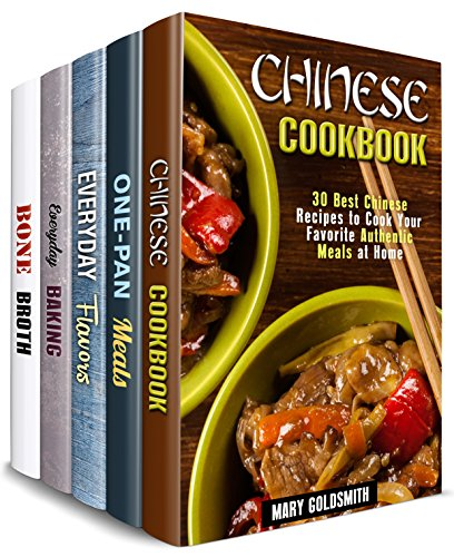 Authentic Comfort Box Set (5 in 1): Over 150 Chinese, One-Pan, Baked Treats, Soups and Flavors to Add Diversity to Your Cooking Routine (Traditional Recipes) by Mary Goldsmith, Sheila Fuller, Claire Rodgers