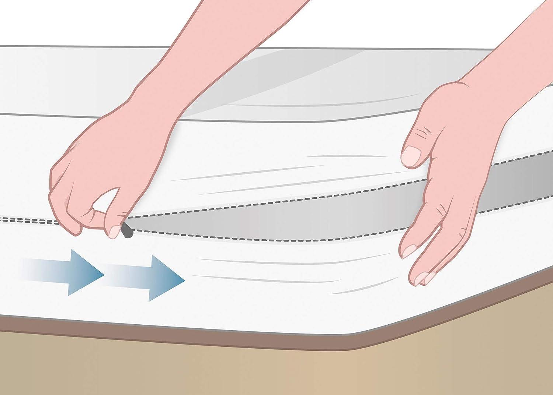 Pikolin Home Coprimaterasso a sacco in Lyocell extra morbido Culla 60 x 120 cm Tutte le misure impermeabile e Iper traspirante