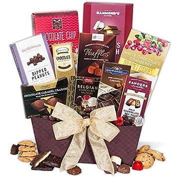 Amazon Com Chocolate Dreams Valentine S Day Gift Basket Gourmet
