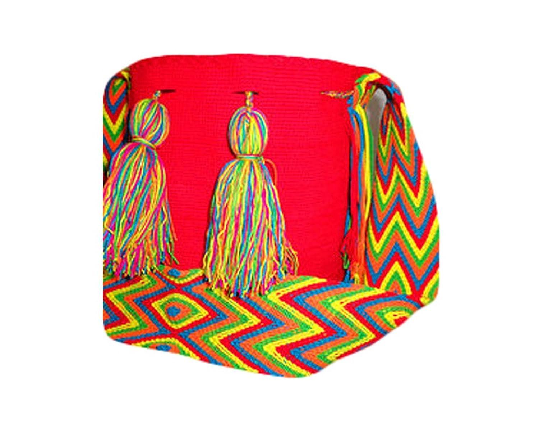 Colombian Shoulder Bag Authentic Handwoven Wayuu Mochila