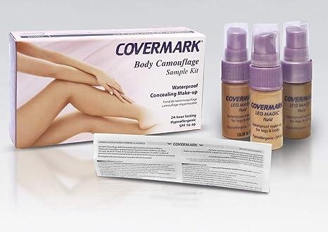 Covermark Leg Magic líquido muestra Kit Luz tonos de piel