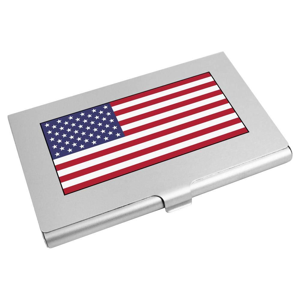 'American Flag' Business Card Holder / Credit Card Wallet (CH00018649) Azeeda