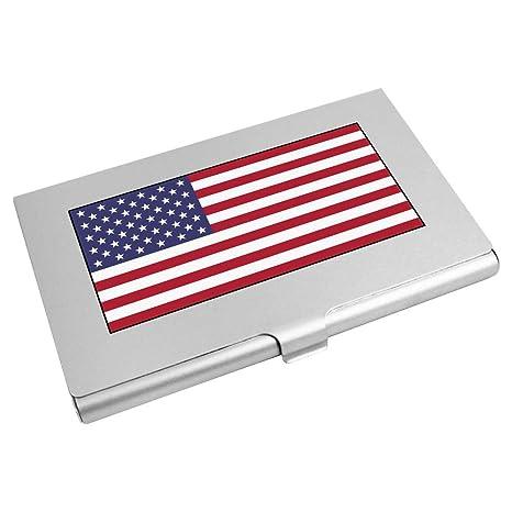 Azeeda Drapeau Americain Porte Carte De Visite Credit CH00018649