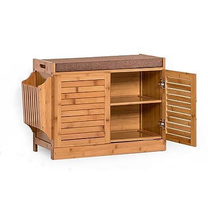 Amazoncom Shoe Rack Feifei Footstools Shoe Storage Bench With Seat