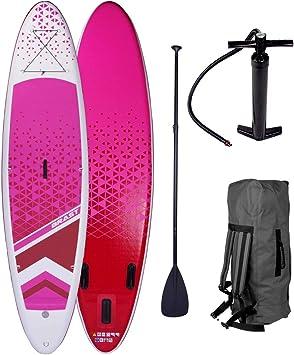 BRAST Stand Up Paddle SUP Board aufblasbar Paddling Surfboard Paddel DUDE LADY