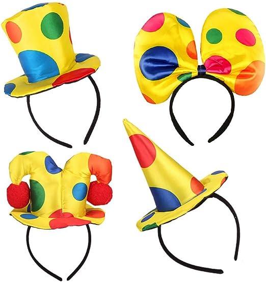 jianghui133 4 Piezas de Sombreros de Fiesta Divertidos Disfraz de ...