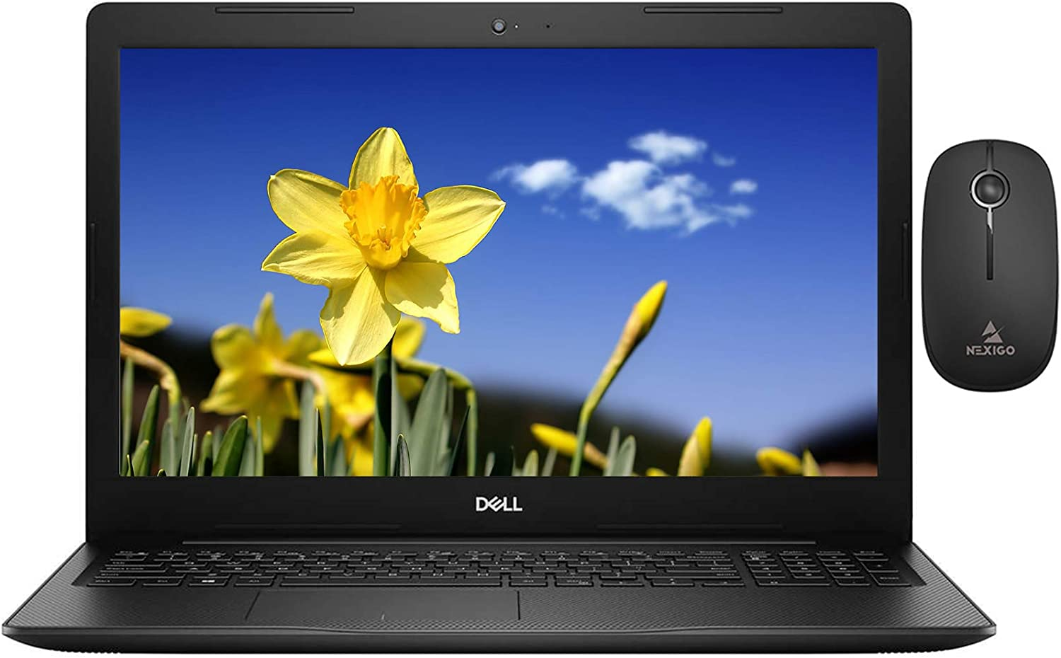 2020 Dell Inspiron 15 3000 FHD 1080P Touchscreen Laptop with Webcam, Intel 4-Core i7-1065G7 up to 3.9 GHz, 32GB RAM, 1TB SSD (Boot) +1TB HDD, Windows 10 + NexiGo Wireless Mouse Bundle