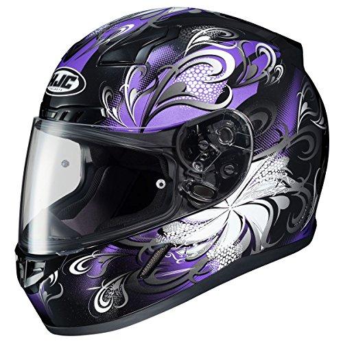 HJC Cosmos Womens CL-17 Street Bike Motorcycle Helmet - MC-11 / Medium