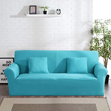 Amazing Amazon Com Berteri Sky Blue Sofa Cover Anti Dirty Armchair Dailytribune Chair Design For Home Dailytribuneorg
