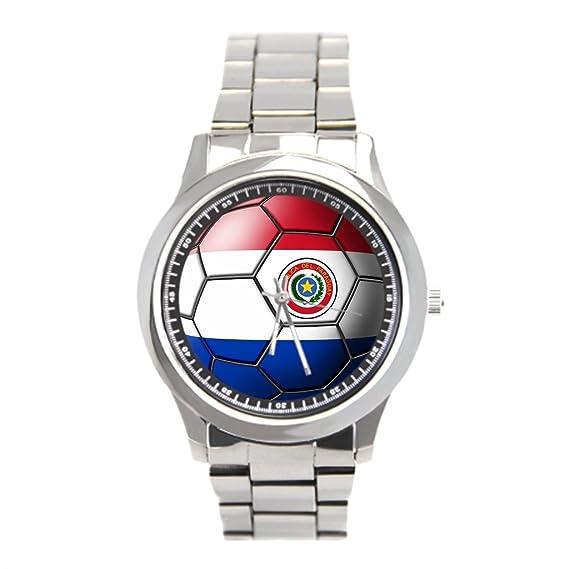dodoband Mens relojes negro fútbol comprar en línea reloj de pulsera de acero inoxidable: Amazon.es: Relojes
