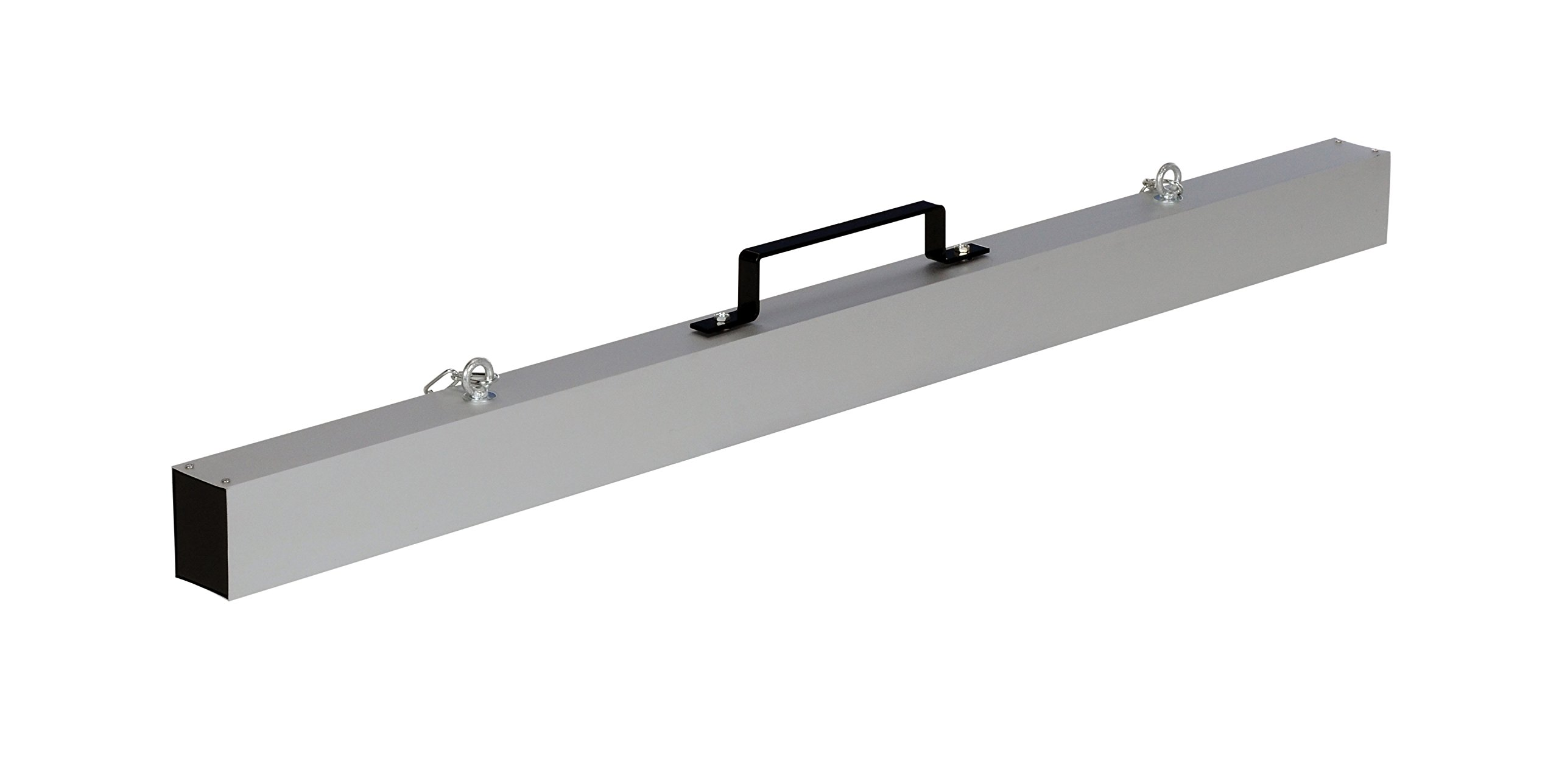 Vestil MS-60 Magnetic Chain Hanger Release Sweeper, 60'' Overall Dimensions, 3'' Length x 60'' Width x 6-3/4'' Height, 65 lb. Capacity