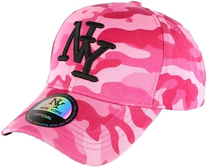 Gorra NY Militar Rosa y Rojo Fashion Baseball Chief – Hombre Rosa ...