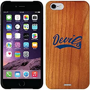 Coveroo iphone 5 5s Madera Wood Thinshield Case with Etowah High School Design