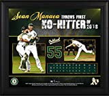 """Sean Manaea Oakland Athletics Framed 15"""" x 17"""" 2018 No-Hitter Collage - MLB Player Plaques and Collages"""