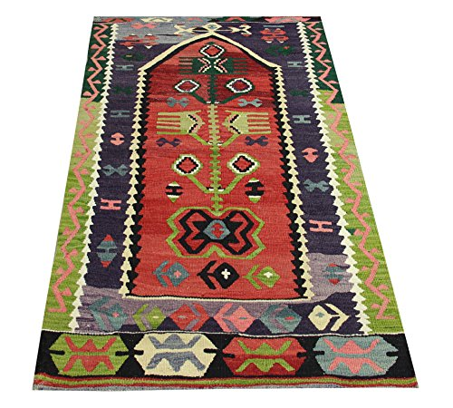 Oriental Small Kilim rug 4,6x2,7 feet Area rug Old rug Nomadic Kilim Rug Throw kilim rug Floor Kilim Rug Turkish Rugs Room Decor