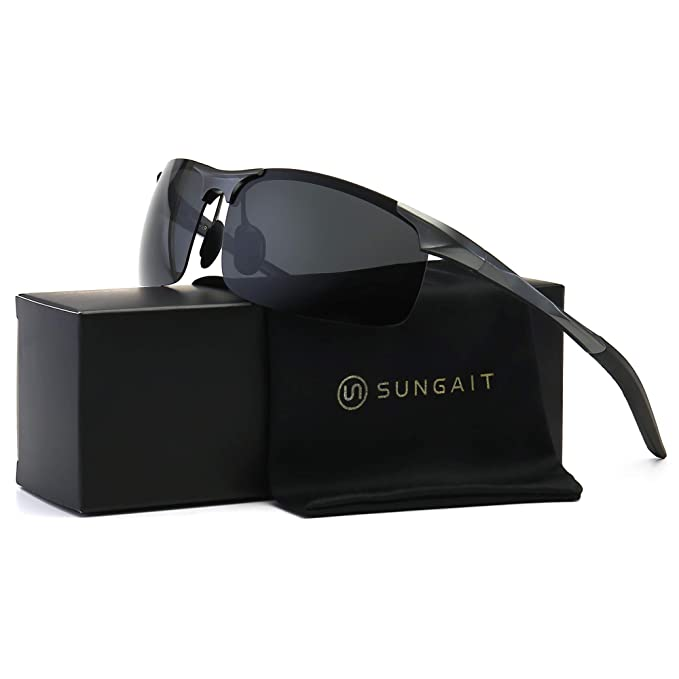 Best Fishing Sunglasses : SUNGAIT Men's Polarized Sunglasses