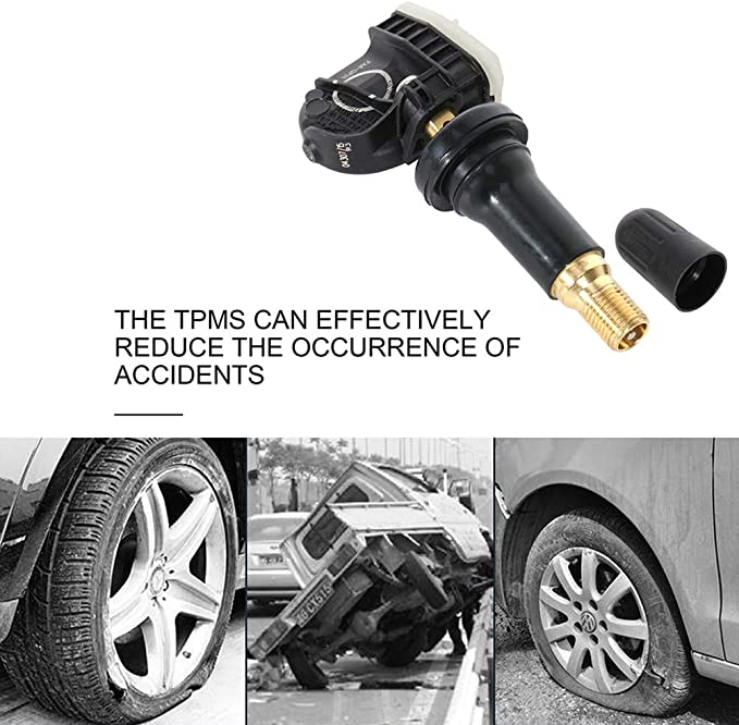 SCITOO Programmed TPMS Tire Pressure Monitoring System Sensor Replacement fits for 2015-2017 For Ford F-150 2017 For Ford F-350 //F-550 Super Duty 2015-2017 For Ford Mustang 315 MHz